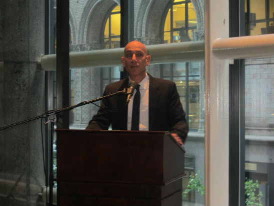 Haaretz's Aluf Benn Speaks at JCF – Israel Bonds Partnership Launch