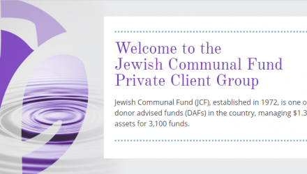 The Chronicle of Philanthropy Highlights JCF's new Private Client Group