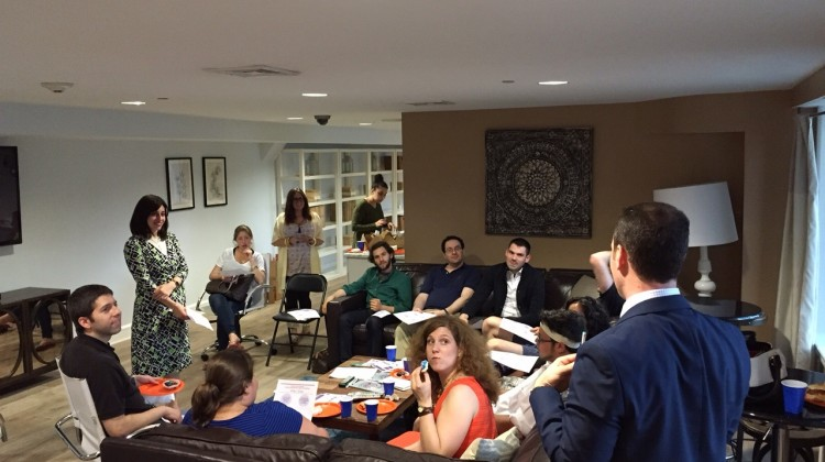 Charity vs. Philanthropy: JCF Facilitates Giving Circle at Moishe House, Hoboken